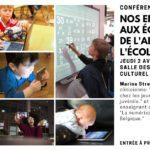 Conférence-débat: «Nos enfants face aux écrans: de l'addiction à l'école numérique»